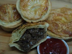 I Make The Pies! 55gm Tender Steak - NZ steak Pie Food Delivery - Jakarta