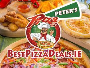 Peter's Pizza Bray  012828702 Peter's BestPizzaDeals.ie - Burger Delivery - Bray