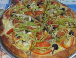 INTER Pizza Pizza Νηστίσιμη 8 τμχ. - Μακαρονάδα Delivery υπηρεσίες - Νεάπολη Θεσσαλονίκης