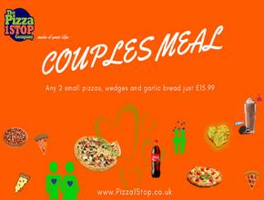 Pizza 1 Stop Couples Meal -  - Shrewsbury
