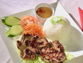 West End Garden Grilled Pork & Rice -  - west end