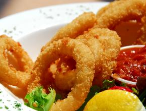 Marinos Italian Pasta And Pizza Fried Calamari - Italian Food Delivery - Lewisville