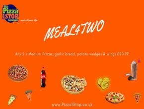 Pizza 1 Stop Meal 4 Two -  - Shrewsbury