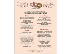 Charleston Bagel Company Page1 - Breakfast - Mount Pleasant