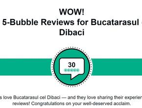 Bucatarasul Cel Dibaci 30 x 5 bubble reviews -  - Bucharest