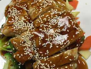 Yum Asian Bistro teriyaki chicken -  - frisco