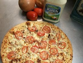 PIZZA ONE AVON Chicken Bacon Ranch Pizza - Pizza Delivery - Avon