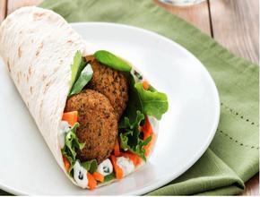 Picante Falafel wrap - Kebab Delivery - setubal