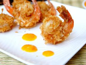 Caribbean Flavas Restaurant & Catering Coconut Fried Shrimp -  - fredericton