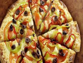 INTER Pizza Pizza Vegetarian (26 cm 8 Τμχ. ) - Μακαρονάδα Delivery υπηρεσίες - Νεάπολη Θεσσαλονίκης