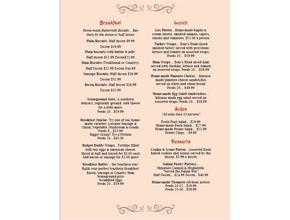 Charleston Bagel Company Page 2 - Breakfast - Mount Pleasant