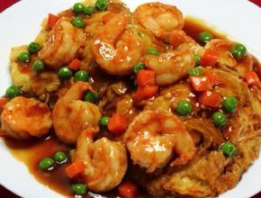 Szechuan Cuisine Shrimp Egg Fu Yong -  - Glendale