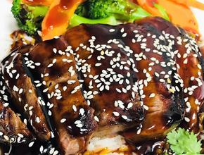Mr. Chan's yum yum Steak Teriyaki Rice Bowl -  - Milton