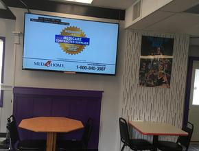 The Purple Monkey Big Screen TV -  - South Charleston