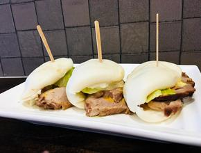 Mr. Chan's Char Siu Bao Sliders -  - Milton