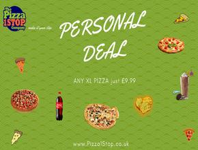 Pizza 1 Stop Personal Deal - Pizza Delivery - Shrewsbury