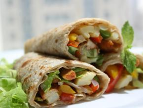 Spice N Grill Wraps - American Food Delivery - Portsmouth