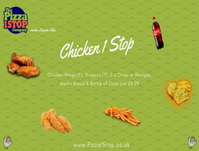 Pizza 1 Stop Chicken 1 Stop -  - Shrewsbury