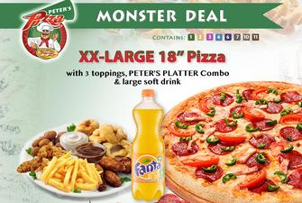 afbaaa6a13fe71 Menu of Peter s Pizza Bray - Best Pizza Deals