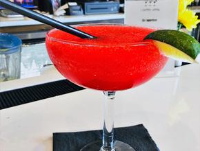 Mr. Chan's Strawberry Margarita -  - Milton