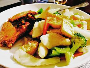 Mr. Chan's Fish with Vegetables & Tofu -  - Milton