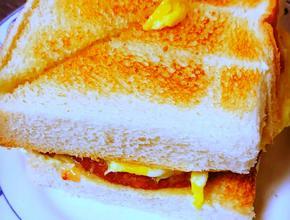 Asian Garden Restaurant Luncheon Meat & Egg Sandwich -  - Boston