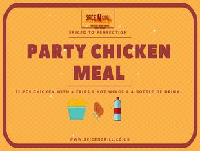 Spice N Grill Party Chicken Meal - American Food Delivery - Portsmouth