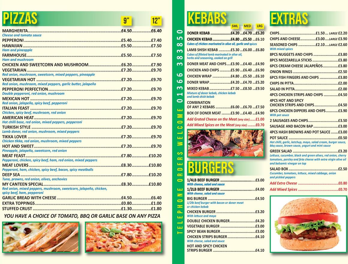 My Canteen Food Delivery Downham Market Order Online