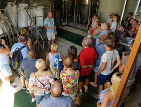 Aphrodite's Rock Microbrewery Fascinating Brewery Tour -  - Tsada