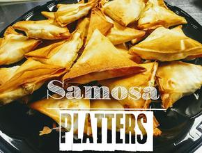 Caribbean Flavas Restaurant & Catering Hand Folded Samosa Platters -  - fredericton