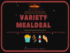 Spice N Grill Variety Meal - American Food Delivery - Portsmouth