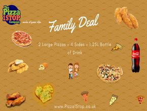 Pizza 1 Stop Family Deal - Pizza Delivery - Shrewsbury