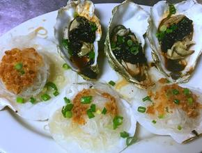 Asian Garden Restaurant Steam Oysters and Scallops in the Shell -  - Boston
