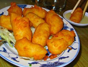 Asian Garden Restaurant Crispy Fried Coconut Custard - Asian Food Delivery - Boston