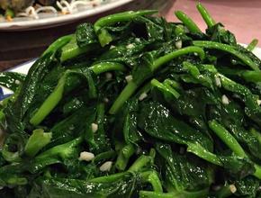 Asian Garden Restaurant Stir Fried Pea Pod Stems -  - Boston