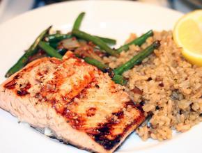 Caribbean Flavas Restaurant & Catering Wild Caught Atlantic Salmon -  - fredericton