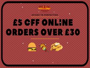 Spice N Grill Online offer - American Food Delivery - Portsmouth