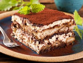 Marinos Italian Pasta And Pizza Tiramisu (Italian Tradition) - Italian Food Delivery - Lewisville