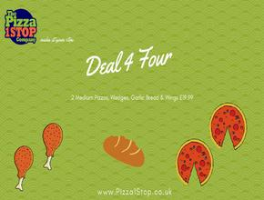 Pizza 1 Stop Deal 4 Four - Pizza Delivery - Shrewsbury