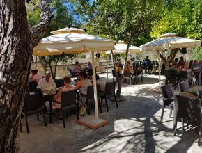 Aphrodite's Rock Microbrewery Courtyard by Day -  - Paphos