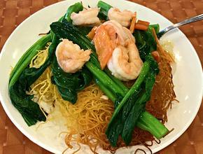 Asian Garden Restaurant Jumbo Shrimp with Vegetables - Asian Food Delivery - Boston