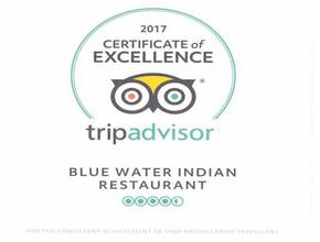 Blue Water Indian Restaurant  - Indian Food Delivery - Whitchurch